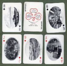 Playing cards Souvenir of Ireland by F.H. Ltd 1950`